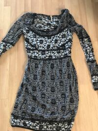 Free People black and gray floral dress San Diego, 92111