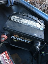 2 batteries for 50$ !!! Car in truck