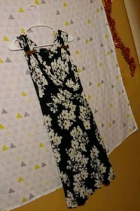 XS black and white flower dress Gaithersburg, 20886