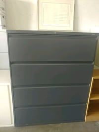 OFFICE/HOME FILE CABINET 4 DRAWERS LATERAL FILE Houston, 77043