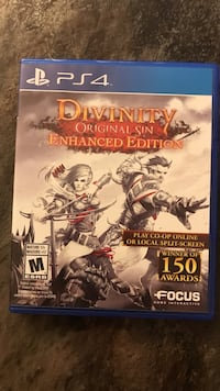 Divinity Original Sin for the PS4