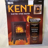 Electric space heater, stove log flame effect  Visalia