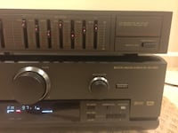 Technics receiver and Technics graphic equalizer . Silver Spring