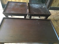 two brown wooden side tables 459 mi