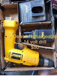 yellow and black DeWalt cordless power drill Canton, 28716