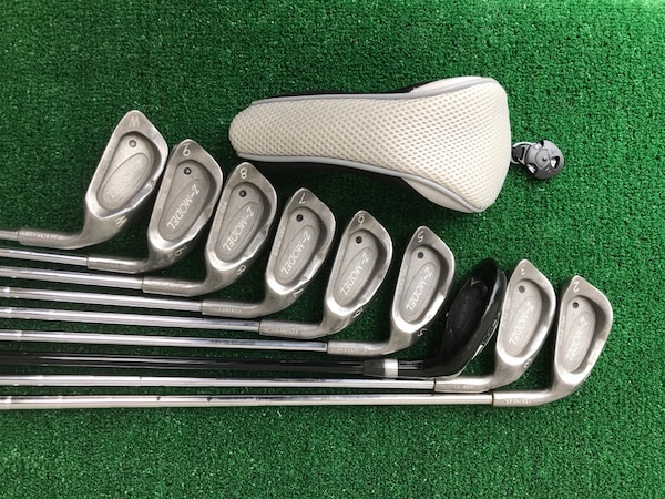 Nine (9) Club Hybrid / Iron Golf Set, 2 thru PW, Stiff & Optiflex dc9dc0a4-4487-487b-b91c-55dae29f94c4