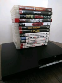 160g PS3 Slim console/12+ Games Antelope, 95843