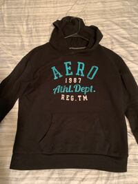 black and white Aeropostale pullover hoodie Fort Worth, 76119