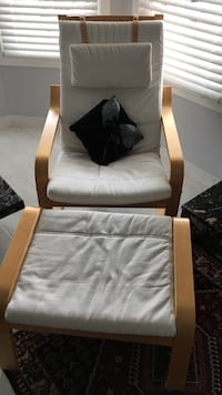white and brown wooden armchair West Bloomfield, 48322