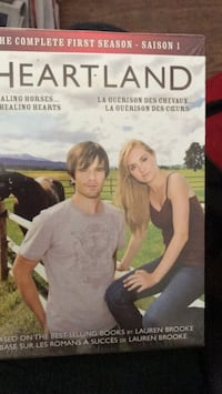 Season 1 of heartland unopened