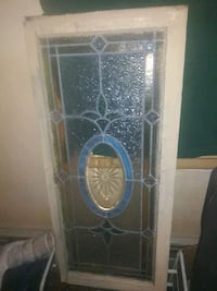 Vintage stain glass window. Untouched Mahanoy City, 17948