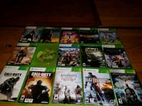 assorted Xbox 360 game cases Bunker Hill, 46914