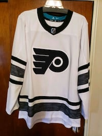 """Official Limited Edition """"White Out"""" Adidas NHL Phila Flyers Jersey  Philadelphia, 19111"""