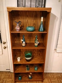 brown wooden 3-layer shelf Annandale, 22003