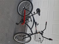 black and red hardtail mountain bike Torrance