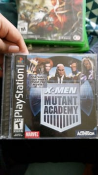 Play station 3 game x men and mortal combat