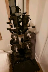 Dumbbell tower with weights included Toronto, M4P