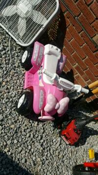 toddler's pink and white ride-on ATV Louisville