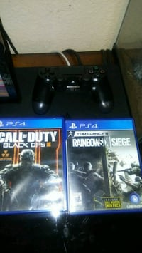 Ps4 3 games 1 remote and headset