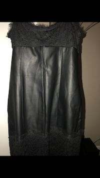 NYE leather black dress  Fairmount Heights, 20743