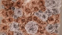 Paper flower backdrops for any occasion. Montreal