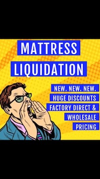 Mattress Liquidation NEW NEW NEW factory direct at wholesale prices  Cape Coral, 33909