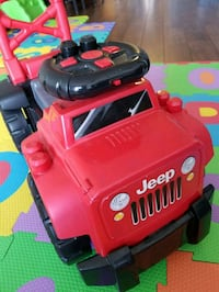 toddler's red Jeep Wrangler ride-on toy Markham, L3T 0B5