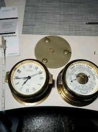 two round white and gold analog watches Palm Desert, 92260