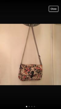 white and pink floral crossbody bag Tadworth, KT20 5HF