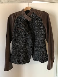 Leather tweed jacket Montréal, H3C 2C9