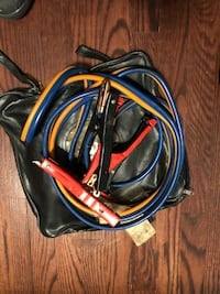 Battery booster cables