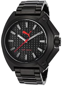 NEW Puma PU [TL_HIDDEN]  Men's Sport St. Steel Watch Toronto