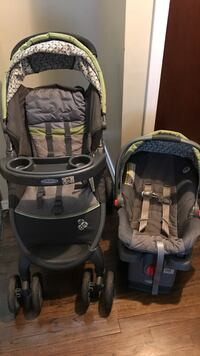 Stroller and Car seat both ( GRACO Fastaction Fold Click Connect Travel System) Wethersfield, 06109
