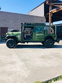 "ONLY 1 ON PLANET! 1974 Jeep AMC ""COMBAT BUILD"" BUILT NOT BOUGHT! AMAZING JEEP Los Angeles"