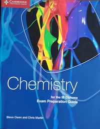 Chemistry for the IB Diploma Exam Preparation Guid Çankaya