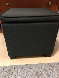 Black and gray wooden chest Tampa, 33606