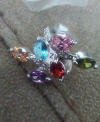 silver and purple gemstone ring Sacramento, 95815