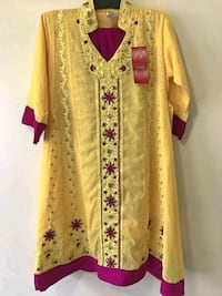 Women's yellow and red floral traditional dress Toronto, M1B 6C3