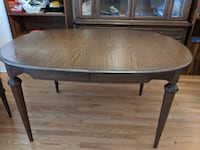 Dining Table and Hutch Buffet with Free Chairs Whitchurch-Stouffville