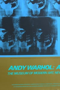 Andy Warhol Event Poster 1989 Extremely Rare