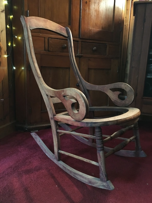 Used Wooden Rocking Chair For Sale In Hermitage Letgo