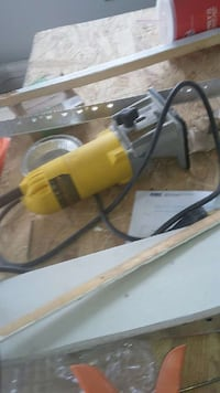 yellow and gray corded wood router Providence, 02908
