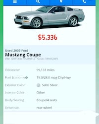 2005 Ford Mustang V-6 Montclair