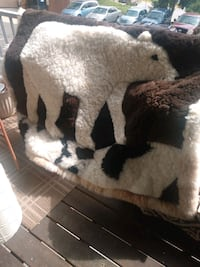 Alpaca rug or wall decor payed $375 sale for$150 Alexandria, 22306