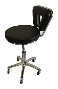 Professional leather stool