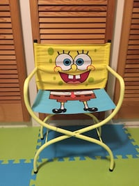 Kid size Spongebob Squarepants Camping Chair 557 km