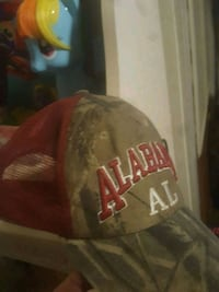 black and red Alabama Crimson Tide track cap Montgomery, 36108
