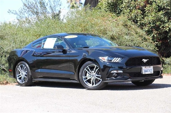2017 Ford Mustang EcoBoost Turbo 2 3L Fuel Efficient Coupe 17