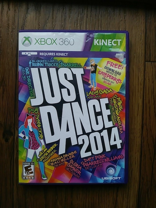Just Dance 2016 Xbox 360 game case