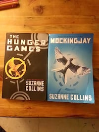 2 hunger games trilogy books  Hamilton, L8H 1M9